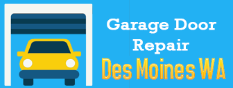 garage door repair desmoines wa logo